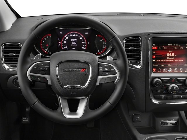 2017 Dodge Durango Base Price SXT AWD Pricing driver's dashboard