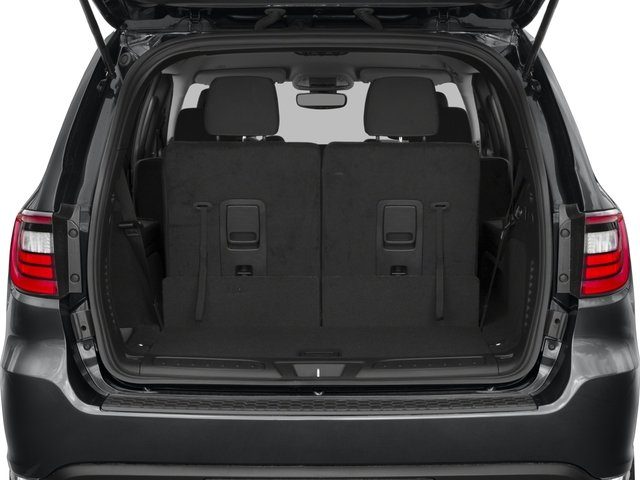 2017 Dodge Durango Base Price SXT AWD Pricing open trunk