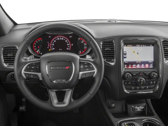 2017 Dodge Durango Base Price R/T RWD Pricing driver's dashboard