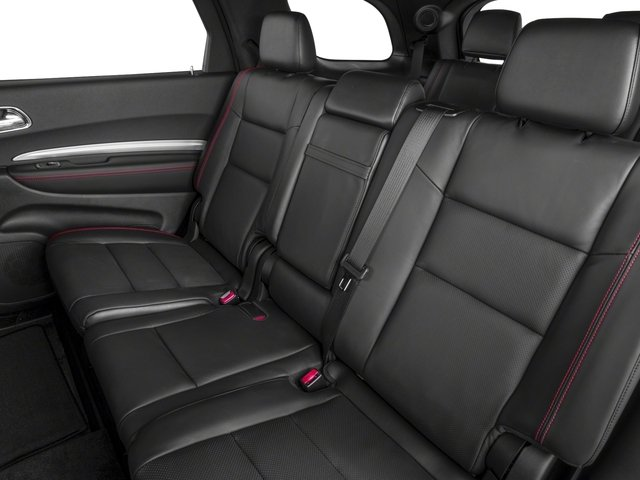 2017 Dodge Durango Base Price R/T RWD Pricing backseat interior