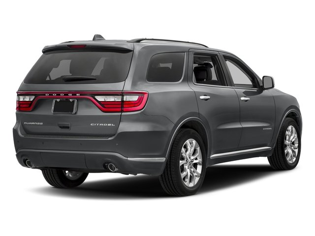2017 Dodge Durango Pictures Durango Citadel RWD photos side rear view