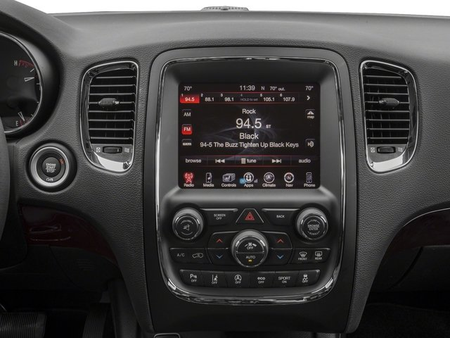 2017 Dodge Durango Base Price Citadel RWD Pricing stereo system