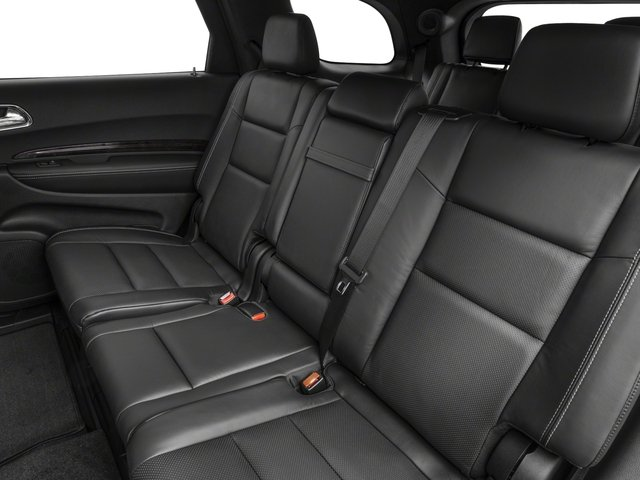 2017 Dodge Durango Pictures Durango Utility 4D Citadel 2WD V6 photos backseat interior