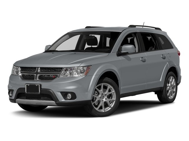 2017 Dodge Journey Prices and Values Utility 4D SXT AWD V6 side front view