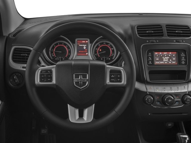 2017 Dodge Journey Prices and Values Utility 4D SXT 2WD I4 driver's dashboard