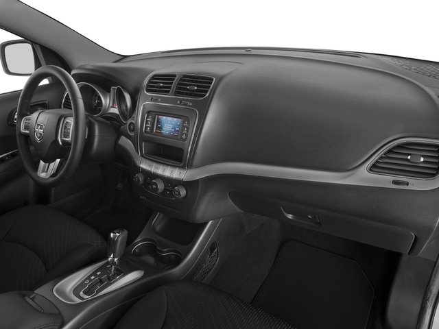 2017 Dodge Journey Prices and Values Utility 4D SXT 2WD I4 passenger's dashboard