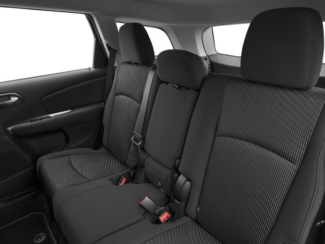 2017 Dodge Journey Prices and Values Utility 4D SE 2WD I4 backseat interior