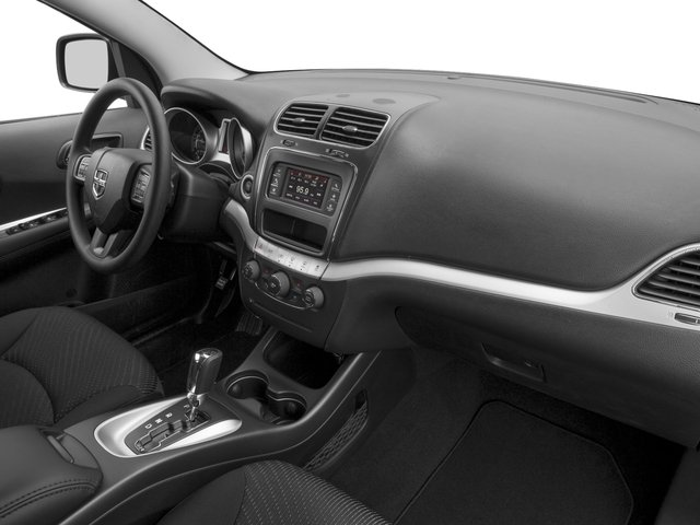 2017 Dodge Journey Prices and Values Utility 4D SE 2WD I4 passenger's dashboard
