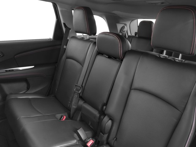 2017 Dodge Journey Prices and Values Utility 4D GT AWD V6 backseat interior