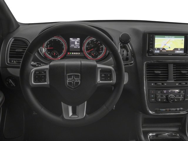 2017 Dodge Grand Caravan Prices and Values Grand Caravan GT V6 driver's dashboard