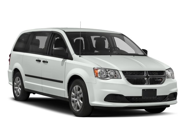 2017 Dodge Grand Caravan Prices and Values Grand Caravan SE V6 side front view