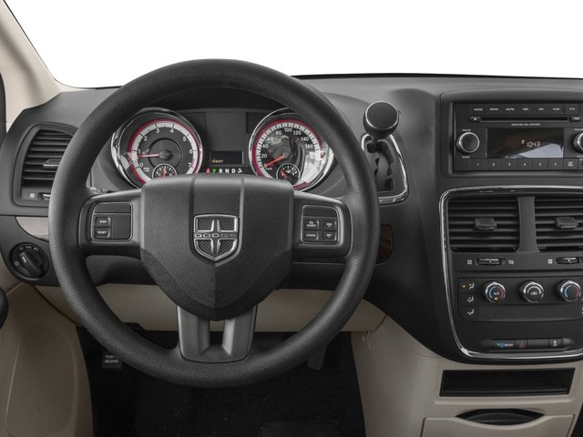 2017 Dodge Grand Caravan Base Price SE Plus Wagon Pricing driver's dashboard