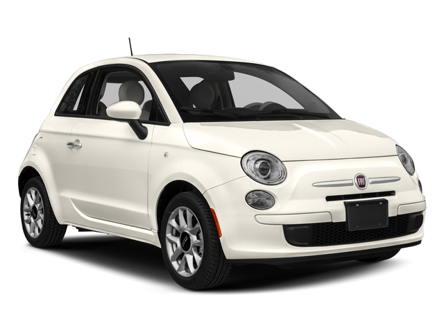 2017 FIAT 500 Prices and Values Hatchback 3D Pop I4 side front view