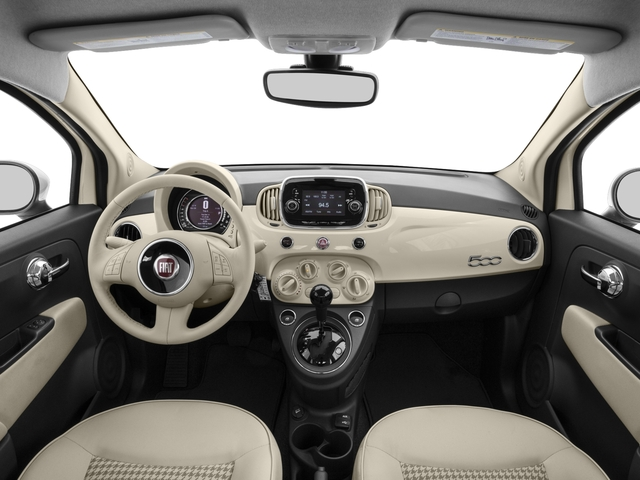 2017 FIAT 500 Base Price Lounge Hatch Pricing full dashboard