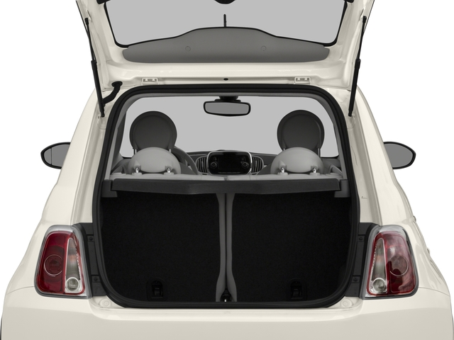 2017 FIAT 500 Base Price Lounge Hatch Pricing open trunk