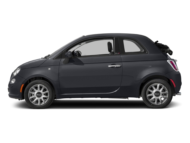 2017 FIAT 500c Prices and Values Convertible 2D Pop I4 side view