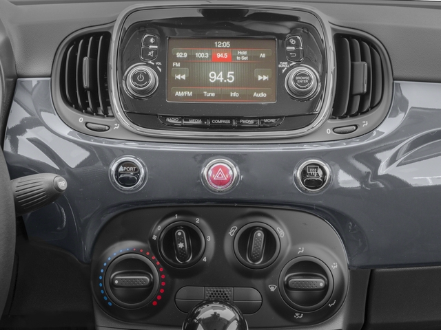 2017 FIAT 500c Prices and Values Convertible 2D Pop I4 stereo system