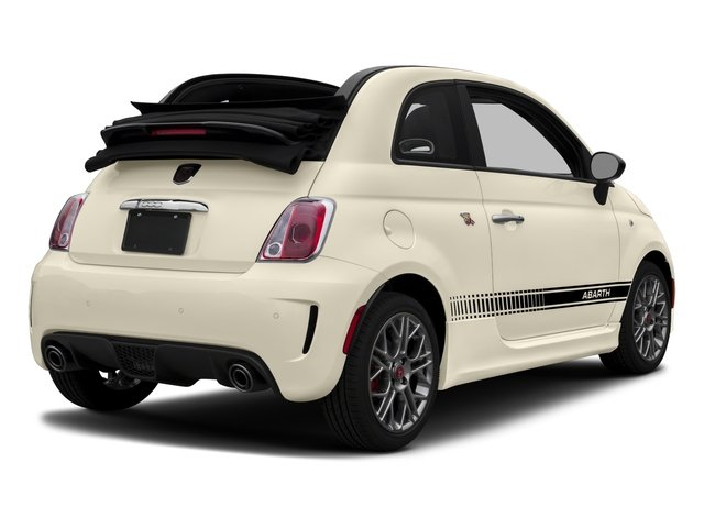 2017 FIAT 500 Abarth Base Price Cabrio Pricing side rear view