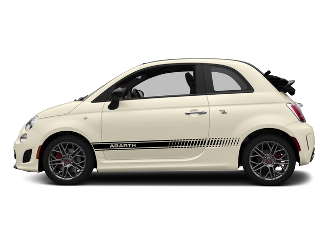 2017 FIAT 500 Abarth Base Price Cabrio Pricing side view