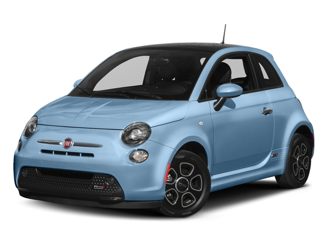2017 Fiat 500e Base Price Hatch Pricing Side Front View