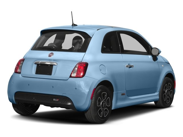 2017 FIAT 500e Base Price Hatch Pricing side rear view