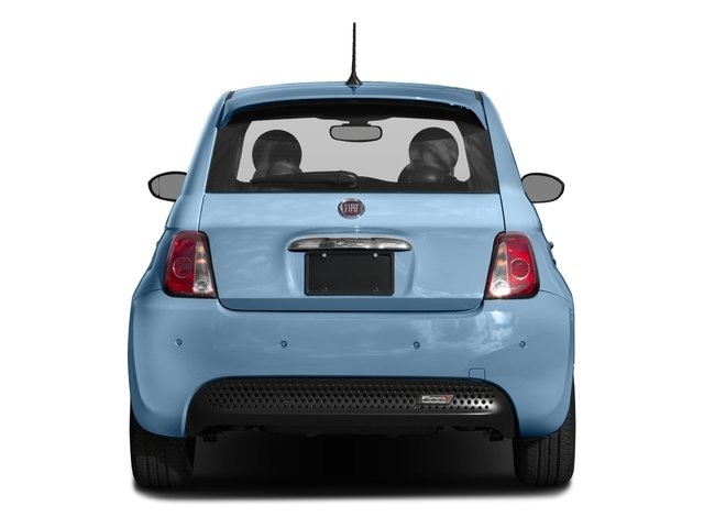 2017 FIAT 500e Base Price Hatch Pricing rear view
