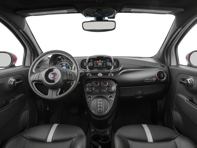2017 FIAT 500e Base Price Hatch Pricing full dashboard