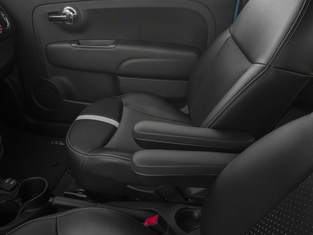 2017 FIAT 500e Base Price Hatch Pricing center storage console