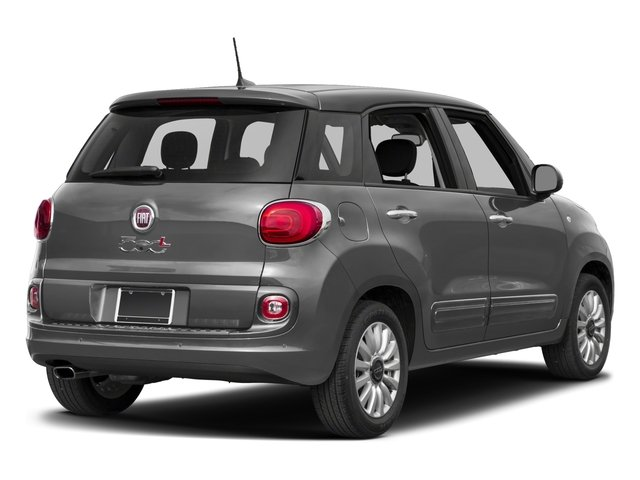 2017 FIAT 500L Pictures 500L Pop Hatch photos side rear view