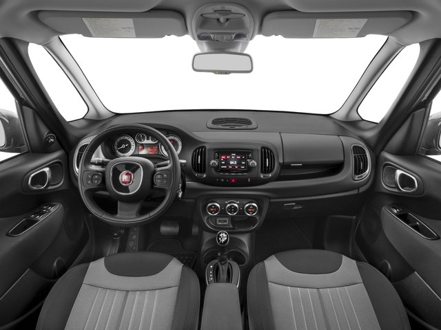2017 FIAT 500L Pictures 500L Pop Hatch photos full dashboard