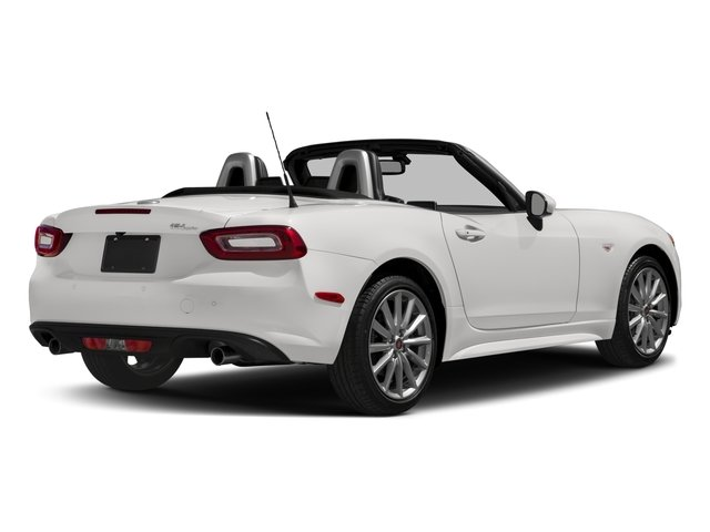 2017 FIAT 124 Spider Pictures 124 Spider Lusso Convertible photos side rear view