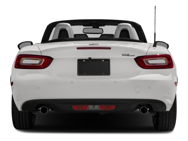 2017 FIAT 124 Spider Pictures 124 Spider Lusso Convertible photos rear view
