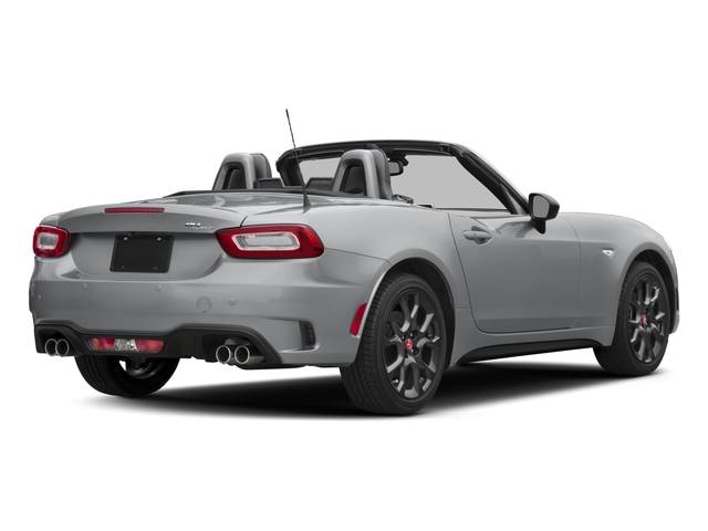 2017 FIAT 124 Spider Pictures 124 Spider Conv 2D Elaborazione Abarth I4 Turbo photos side rear view