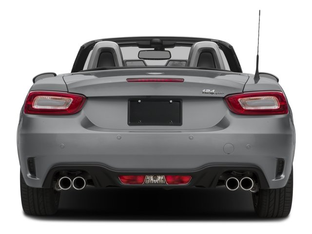 2017 FIAT 124 Spider Pictures 124 Spider Conv 2D Elaborazione Abarth I4 Turbo photos rear view