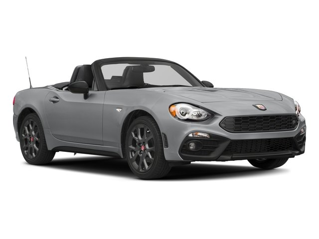2017 FIAT 124 Spider Pictures 124 Spider Conv 2D Elaborazione Abarth I4 Turbo photos side front view