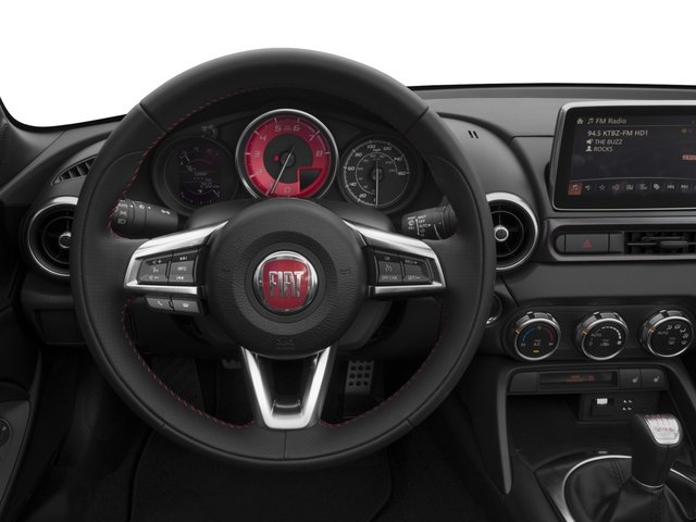 2017 FIAT 124 Spider Pictures 124 Spider Conv 2D Elaborazione Abarth I4 Turbo photos driver's dashboard