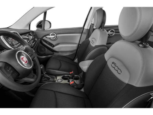 2017 FIAT 500X Prices and Values Utility 4D Lounge AWD I4 front seat interior