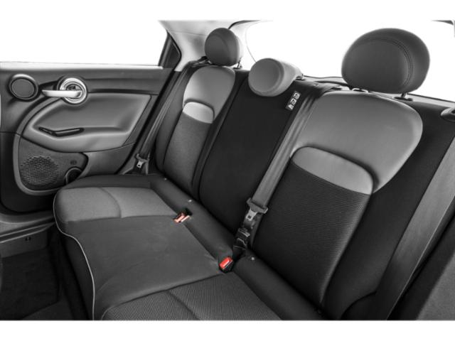2017 FIAT 500X Prices and Values Utility 4D Lounge AWD I4 backseat interior