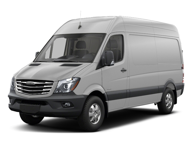 2017 Freightliner Light Duty Sprinter Cargo Van Base Price 2500 High Roof V6 170 4WD Pricing side front view