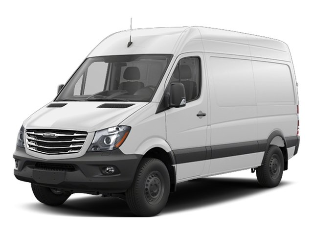 2017 Freightliner Light Duty Sprinter Cargo Van Base Price 2500 High Roof V6 170 Worker RWD Pricing side front view