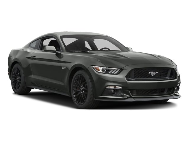 2017 Ford Mustang Pictures Mustang Coupe 2D GT V8 photos side front view