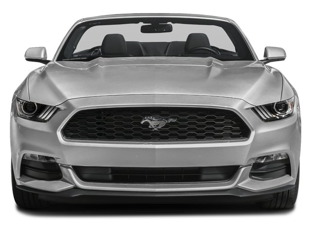 2017 Ford Mustang Prices and Values Convertible 2D V6 front view