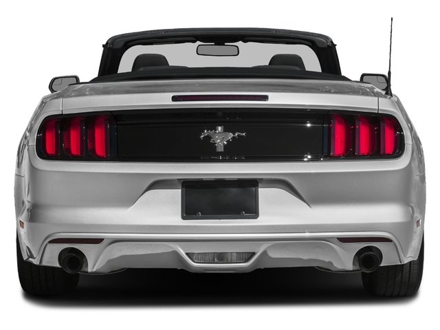 2017 Ford Mustang Prices and Values Convertible 2D V6 rear view