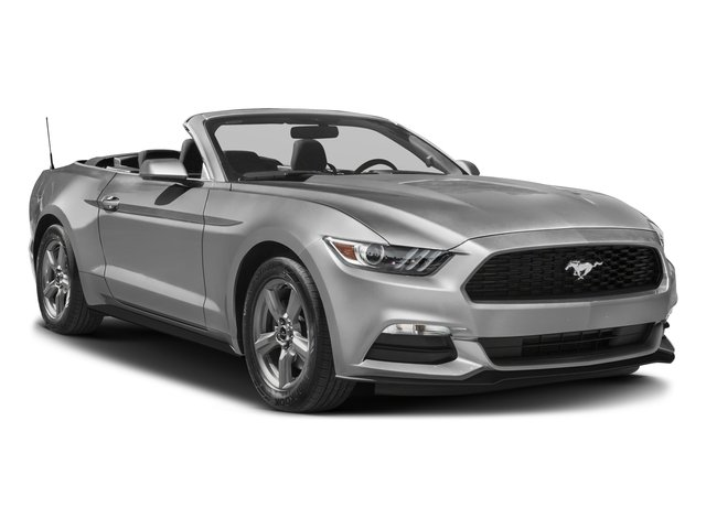 2017 Ford Mustang Prices and Values Convertible 2D V6 side front view