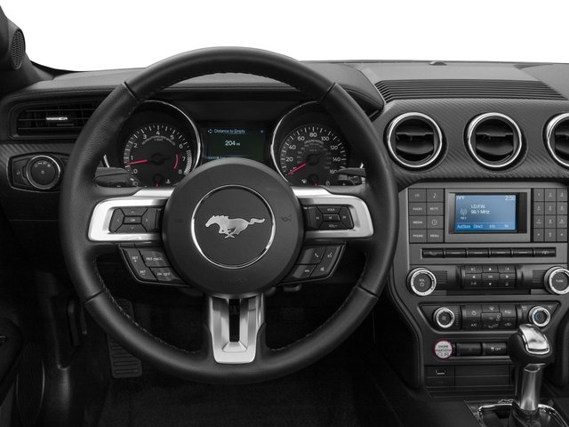 2017 Ford Mustang Prices and Values Convertible 2D V6 driver's dashboard