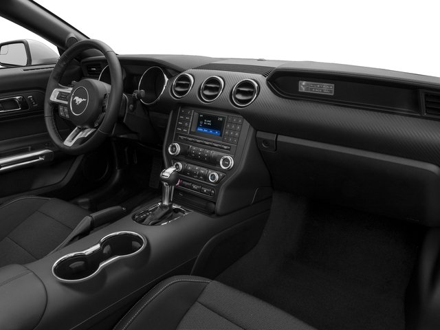 2017 Ford Mustang Prices and Values Convertible 2D V6 passenger's dashboard
