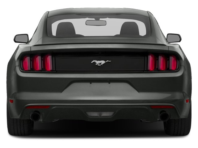 2017 Ford Mustang Prices and Values Coupe 2D V6 rear view