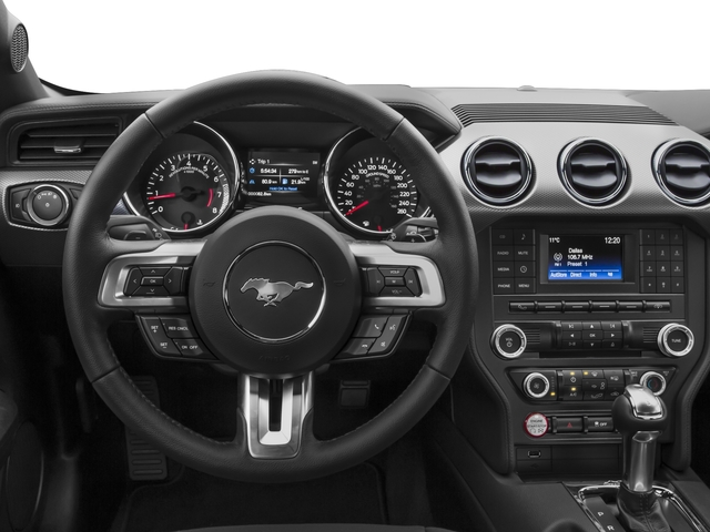 2017 Ford Mustang Prices and Values Coupe 2D V6 driver's dashboard