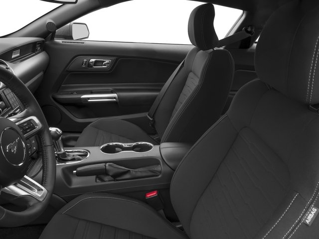 2017 Ford Mustang Prices and Values Coupe 2D V6 front seat interior