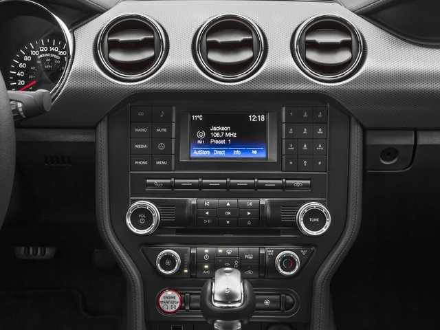 2017 Ford Mustang Prices and Values Coupe 2D V6 stereo system
